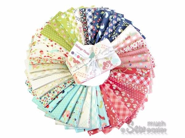 Moda Vintage Picnic by Bonnie and Camille - Fat Eighth 1/8 Bundle