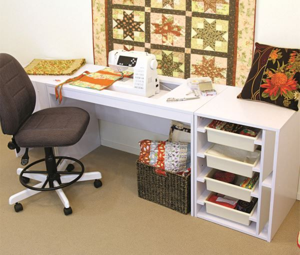 Tailormade Elements Sewing Cabinet Flat Pack Sewinng Machine Desk