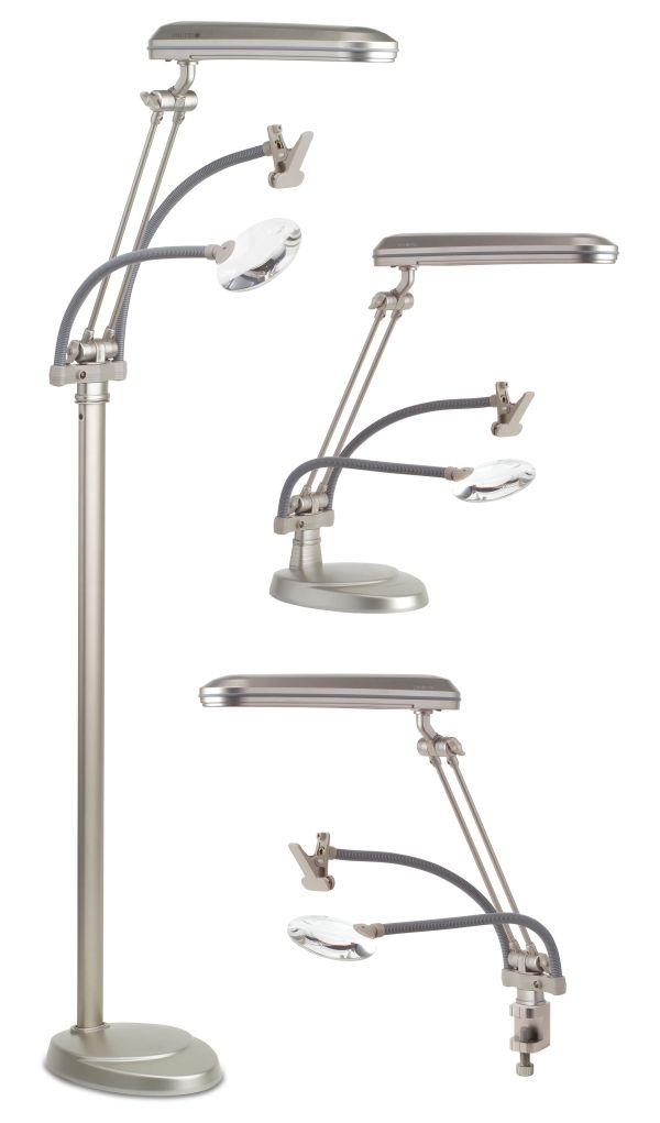 Ottlite Australia Floor Lamp 3 In 1 With Magnifier Sew Much Easier