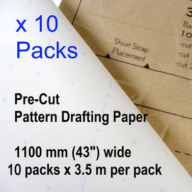 Patternmaking Paper Dot and Cross - 10 packs