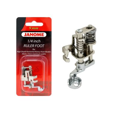 Janome Ruler Work Foot (202-441-009) for High Shank 9mm / 7mm