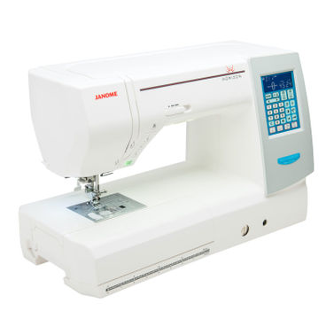 Janome Horizon Memory Craft MC8200QCP Sewing Machine - 9mm with AcuFeed
