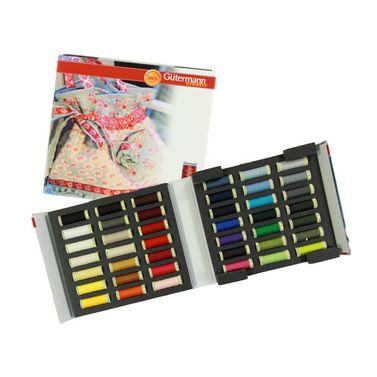 Gutermann Sew-All Polyester Sewing Thread Album - 42 Reels