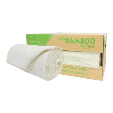 Sew Easy 100% Bamboo Batting (254cm Width) - Whole Roll 15m