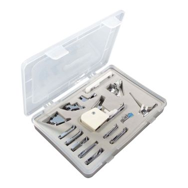 Standard Sewing Machine Presser Foot Set (Universal for Low Shank 7mm & 5mm machines)