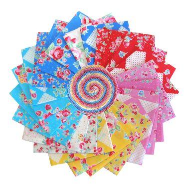 "Lecien Flower Sugar ""Very Berry Cherry"" - Jelly Roll"
