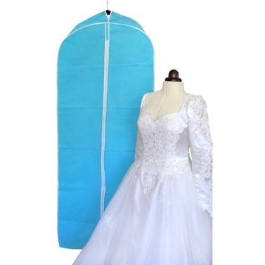 Wedding Dress Storage Garment Bag - Blue