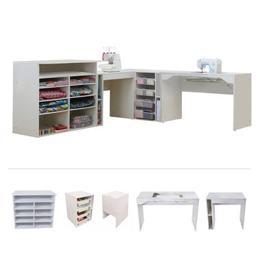 Elements by TailorMade - Sewing Machine Cabinet Complete Set