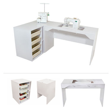 Elements by TailorMade - Sewing Machine Cabinet Trio
