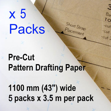 Patternmaking Paper Dot and Cross - 5 packs