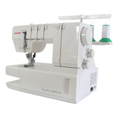 Janome CoverPro 2000CPX Coverstitch Machine for Hemming