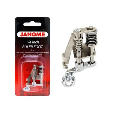 Janome Ruler Work Foot (202-442-000) for Low Shank Top Loading Models