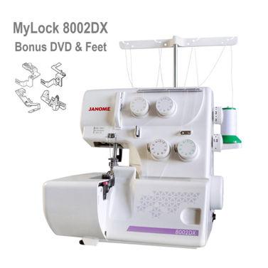 Janome 8002DX MyLock Overlocker - Most Popular + Best Value