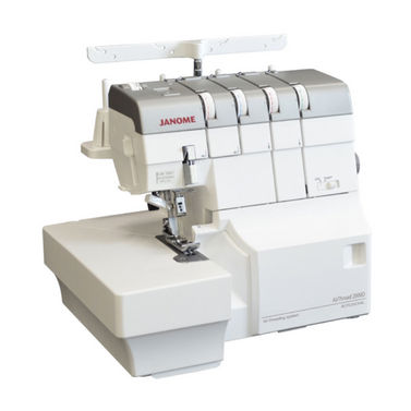 Janome Air Thread AT2000D Overlocker - Easy Threading by Air