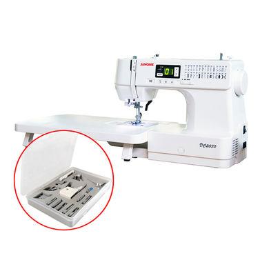 Janome DC2030 Beginner Sewing Machine + Quilter's Bonus + 15-piece Feet Set