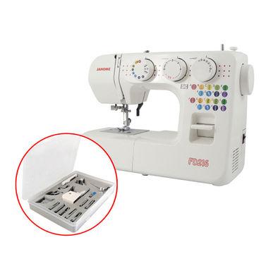 Janome FD216 Budget Sewing Machine + 15-piece Presser Feet Set