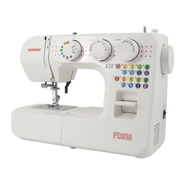 Janome FD216 Basic Mechanical Sewing Machine - Best for Budget
