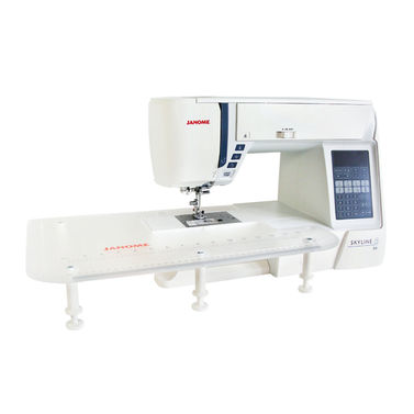 Janome Skyline S6 - Best Sewing Machine for Quilting wih AcuFeed Built-in Walking Foot