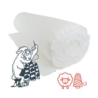Matilda's Own Wool Poly Batting - Whole Roll 30m