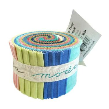 Moda Color Theory Ombre by V and Co - Junior Jelly Roll
