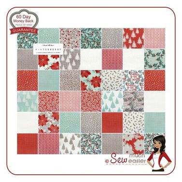 Moda Winterberry by Kate and Birdie -  Charm Pack