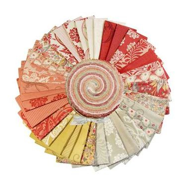 Moda Madame Rouge by French General - Jelly Roll