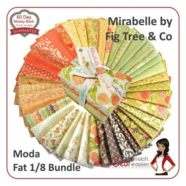 Moda Mirabelle by Fig Tree and Co - Fat Eighth Bundle