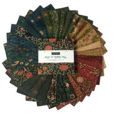 Moda Best of Morris (Fall) by William Morris - Charm Pack