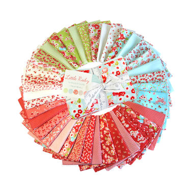 Moda Little Ruby by Bonnie and Camille - Fat Eighth 1/8 Bundle