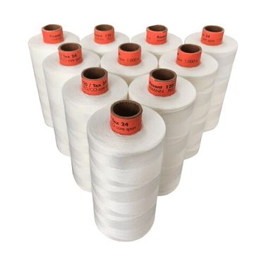 Rasant Thread CoreSpun Polyester Cotton (3000 Natural) 1000m x 10 Reels