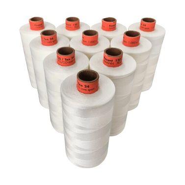 Rasant Thread CoreSpun Polyester Cotton (3000 Natural) 1000m x 10 Reels
