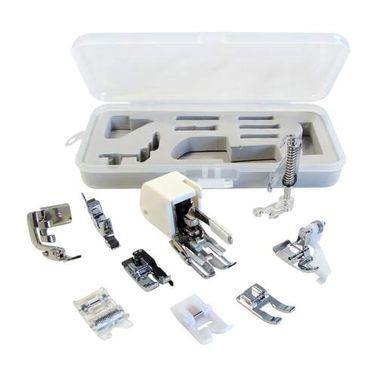 Denim & Dressmaking Sewing Machine Presser Foot Set (Universal for Low Shank 7mm & 5mm machines)