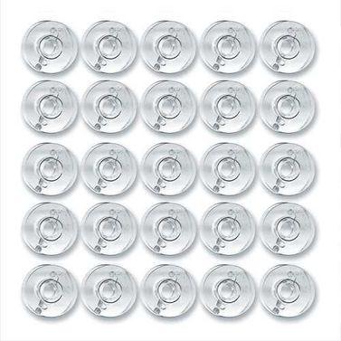 Pack of 25 Empty Plastic Bobbins