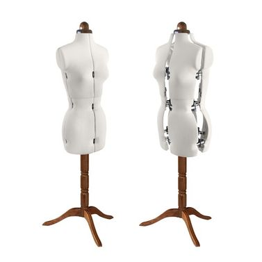 Adjustoform Lady Valet Mannequin Size 10 - 16 in Natural