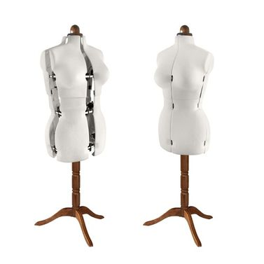 Adjustoform Lady Valet Mannequin Size 16 - 22 in Natural