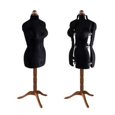 Adjustoform Lady Valet Mannequin Size 16 - 22 in Black