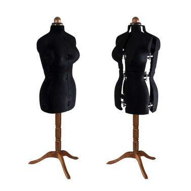 Adjustoform Lady Valet Mannequin Size 16 - 22 in Black