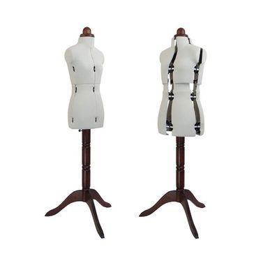 Adjustoform Lady Valet Mannequin Petite Size 6 - 12 in Natural