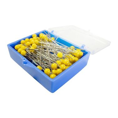 Stainless Steel Yellow Head Quilting Pins
