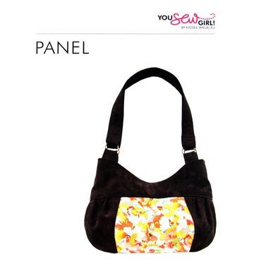 Panel Bag Pattern by You Sew Girl