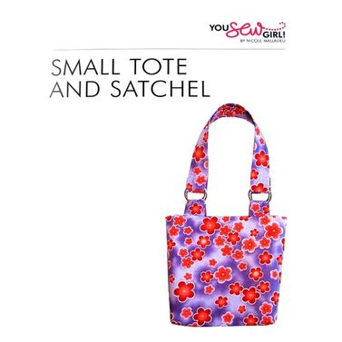 Small Tote Bag Pattern by You Sew Girl