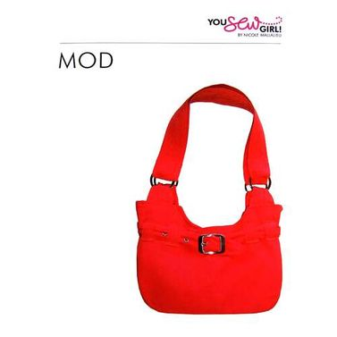 Mod Bag Pattern by You Sew Girl
