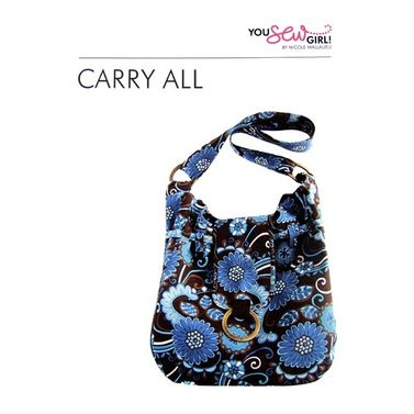 Carry All Bag Pattern by You Sew Girl