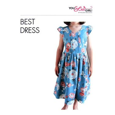 Best Dress Pattern by You Sew Girl